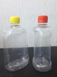ПЭТ-бутылка 0,5 л. (фляжка фигурная)