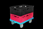 Тележка складская для ящиков